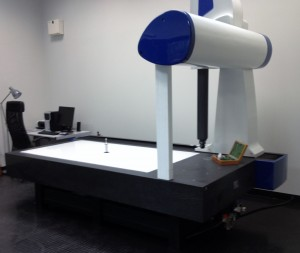 CMM largest measuring table in the midlands